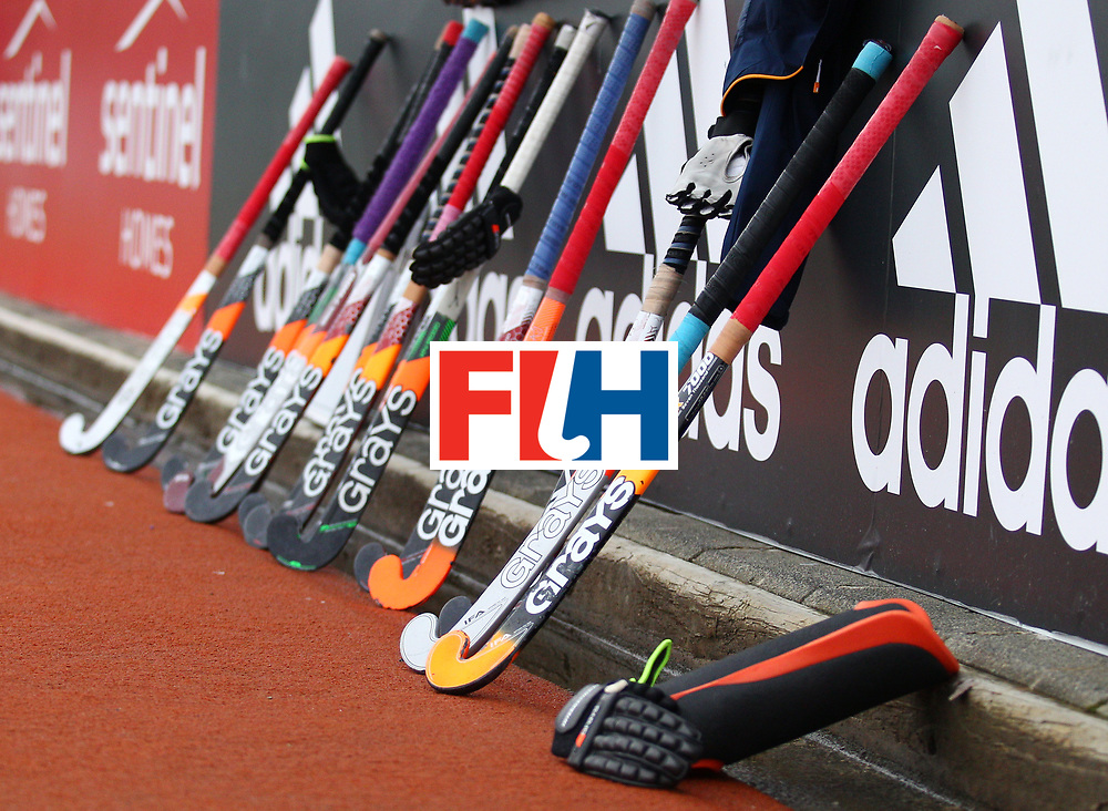 New Zealand, Auckland - 25/11/17  <br /> Sentinel Homes Women&rsquo;s Hockey World League Final<br /> Harbour Hockey Stadium<br /> Copyrigth: Worldsportpics, Rodrigo Jaramillo<br /> Match ID: 10308 - USA vs CHN<br /> Photo: