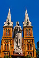 Notre Dame Cathedral, Ho Chi Minh CIty (Saigon), Vietnam.