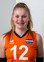 21-12-2018 NED: Photoshoot selection of Orange Young Girls, Arnhem <br /> Orange Young Girls 2018 - 2019 / Tess Leemreize #12