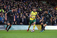 Ivo Pinto of Norwich in action during the FA Cup match at Carrow Road, Norwich<br /> Picture by Paul Chesterton/Focus Images Ltd +44 7904 640267<br /> 06/01/2018