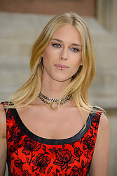 Mary Charteris attends 'Wedding Dresses 1775 - 2014' - VIP private view. Victoria & Albert Museum, London, United Kingdom. Wednesday, 30th April 2014. Picture by Chris Joseph / i-Images