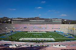 PASADENA, CA - SEPTEMBER 05:  General view of the of the Rose Bowl before the game between the UCLA Bruins and the Virginia Cavaliers on September 5, 2015 in Pasadena, California. The UCLA Bruins defeated the Virginia Cavaliers 34-16. (Photo by Jason O. Watson/Getty Images) *** Local Caption ***