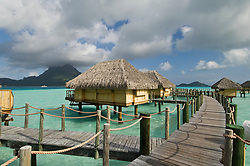 Bora-Bora, French Polynesia - 10/17/2006 - Pearl Beach Resort, Bora-Bora, French Polynesia.(Photo by Sharpshooters/VWPics) *** Please Use Credit from Credit Field *** *** Please Use Credit from Credit Field ***