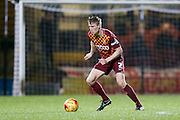 Bradford City defender Stephen Darby  during the Sky Bet League 1 match between Bradford City and Barnsley at the Coral Windows Stadium, Bradford, England on 26 January 2016. Photo by Simon Davies.