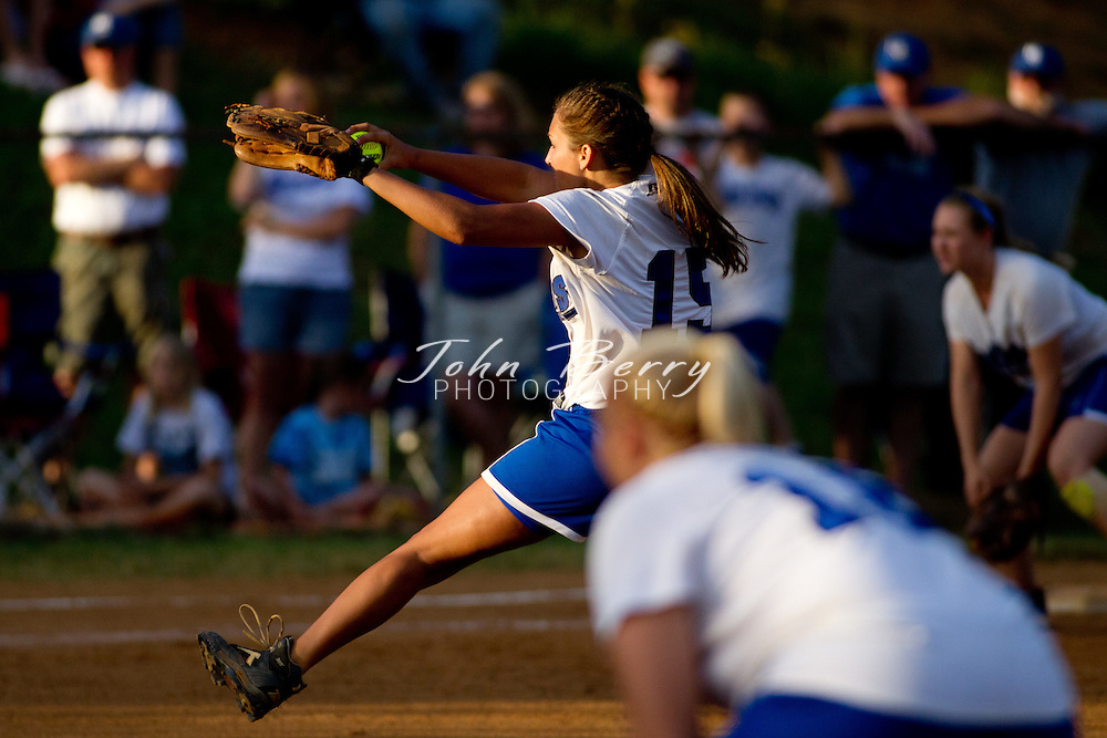June/3/11:  MCHS Varsity Softball vs William Campbell Generals in the finals of the Region B Softball Tournament.  Madison loses 9-1.  Madison's only run came from a solo home run by Anna Kelliher in the second inning.