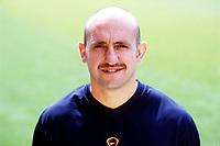 Tony Colbert (fitness coach), Arsenal Photocall, Highbury Stadium, 11/8/00. Credit: Colorsport / Stuart MacFarlane.