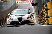Luigi FERRARA, ITA, Team Mulsanne Alfa Romeo Giulietta TCR<br /> <br /> 65th Macau Grand Prix. 14-18.11.2018.<br /> Suncity Group Macau Guia Race - WTCR - FIA World Touring Car Cup<br /> Macau Copyright Free Image for editorial use only