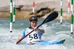 Ciaran LEE EDWARDS of Great Britain during the Kayak Single (MK1) Mens Semi Final race of 2019 ICF Canoe Slalom World Cup 4, on June 30, 2019 in Tacen, Ljubljana, Slovenia. Photo by Sasa Pahic Szabo / Sportida