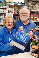 Blakemore Retailer of the year Barnsley Barnsley Regional Finalist John and Jenny Jackson of the Toll Bar Post Office & General Store .21 January 2010.Images © Paul David Drabble