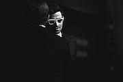 Richard Speight Jr and Matt Cohen at the Dick and Matt Pack Karaoke party, Salute to Supernatural Las Vegas 2014