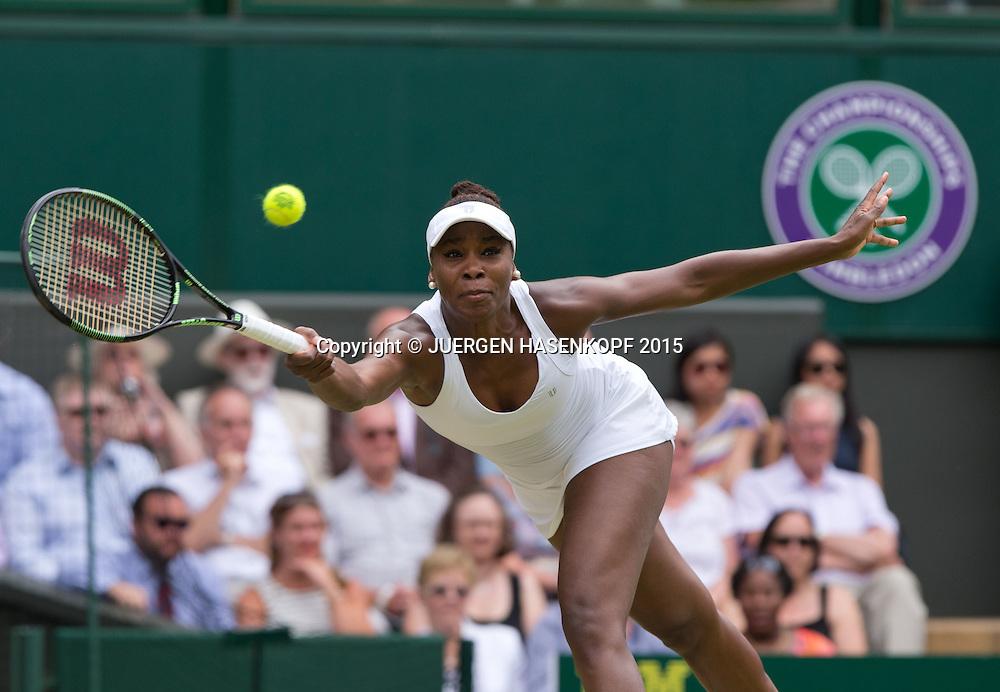 Venus Williams (USA)<br /> <br /> Tennis - Wimbledon 2015 - Grand Slam ITF / ATP / WTA -  AELTC - London -  - Great Britain  - 6 July 2015.