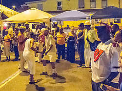 Dancing to the sounds of Cool Sessions.  Father's Day Weekend Celebration in Frenchtown.  St. Thomas, VI.  21 February 2015.  © Aisha-Zakiya Boyd