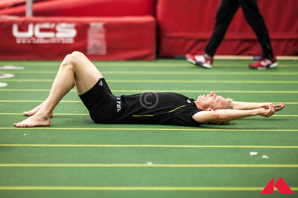 Boston University Scarlet and White Indoor Track & Field: