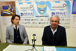 WALTER MATTIOLI PRESIDENTE SPAL E ALESSANDRO FORTINI PRESIDENTE ENTE PALIO