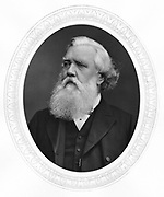 Austen Henry Layard (1817-94) English archaeologist, politician and diplomat. Excavated Nimrud/Ninevah near Mosul, Iraq, in 1845-7 and 1849-51. Photograph published c1880. Woodburytype.