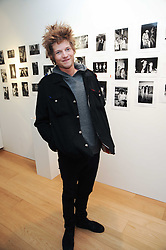 COUNT NIKOLAI VON BISMARCK at a private view of photographs by Nick Ashley held at the Sladmore Gallery, 32 Bruton Place, London on 13th January 2010.