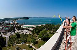during press conference of ATP Challenger Tilia Slovenia Open 2013, on June 20, 2013 in Hotel Metropol, Portoroz, Slovenia. (Photo By Vid Ponikvar / Sportida)