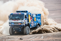 Andrey Karginov (RUS), of KAMAZ – Master races during stage 4 of Rally Dakar 2019 from Arequipa to Tacna, Peru on January 10, 2019. // Flavien Duhamel/Red Bull Content Pool // AP-1Y3A5U4SN2111 // Usage for editorial use only // Please go to www.redbullcontentpool.com for further information. //