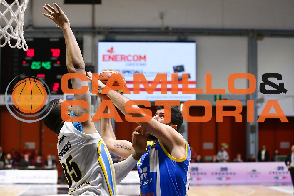 Antonio Iannuzzi<br /> Vanoli Cremona - Betaland Capo D Orlando<br /> Lega Basket Serie A 2016/2017<br /> Cremona 12/03//2017<br /> Foto Ciamillo-Castoria / M. Brondi