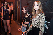GALA GORDON; PHOEBE FORD; FLORA SCRYMGEOR, Prada Congo Benefit party. Double Club. Torrens Place. Angel. London. 2 July 2009.