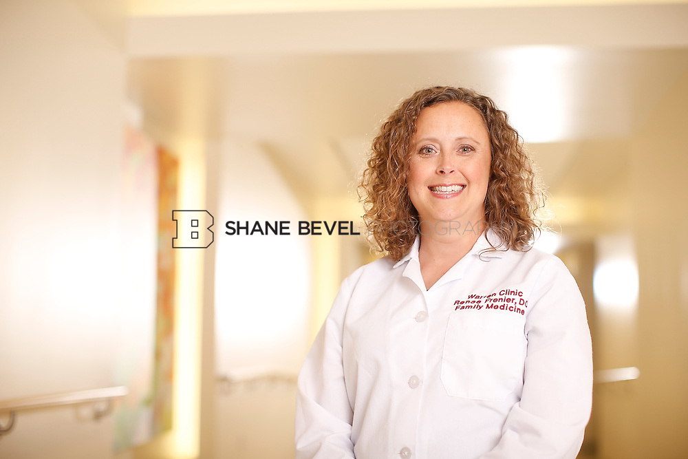 5/28/15 4:13:55 PM -- Dr. Renee Frenier of Saint Francis Health System poses for a portrait for the 2015 Advertising Campaign. <br /> <br /> Photo by Shane Bevel