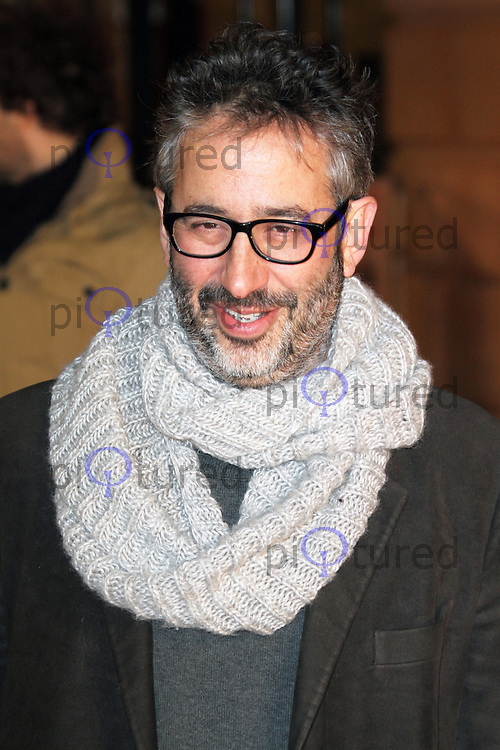David Baddiel, I Give It A Year European Film Premiere, Vue West End cinema Leicester Square, London UK, 24 January 2013, (Photo by Richard Goldschmidt)