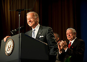 Apr 19,2010 - Washington, District of Columbia USA - Vice President Joe Biden addresses the Building and Construction Trades Department, AFL-CIO's 2010 National Legislative Conference at the Washington Hilton on Monday.(Credit Image: © Pete Marovich/ZUMA Press)