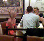 **EXCLUSIVE**.Victoria Beckman having dinner with friends and business associates at a Restaurant Downtown.New York, NY, USA.Tuesday, September 11, 2007.Photo By Celebrityvibe.com; .To license this image please call (212) 410 5354 ; or.Email: celebrityvibe@gmail.com ;.Website: www.Celebrityvibe.com .