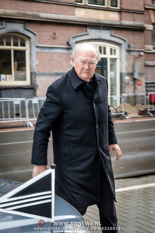 NLD/Amsterdam//20170309 - Herdenkingsdienst Guus Verstraete, Joop van den Ende