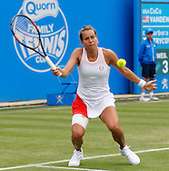 Barbora Strycova on Day Eight of the Aegon Classic at Edgbaston Priory Club, Birmingham, UK<br /> Picture by Mike Griffiths/Focus Images Ltd +44 7766 223933<br /> 18/06/2016