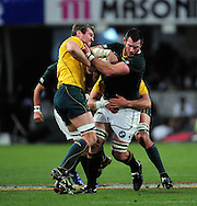 Danie Rossouw from South Africa during the Tri Nations Test match between South Africa and Australia at the Kingspark Stadium in Durban on 13 Aug 2011..© Gerhard Steenkamp/Superimage
