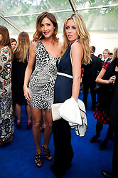 Left to right, LISA SNOWDON and Abigail Clancy at the Glamour Women Of The Year Awards held in Berkeley Square, London on 8th June 2010.