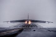 B-52 takeoff Alaska