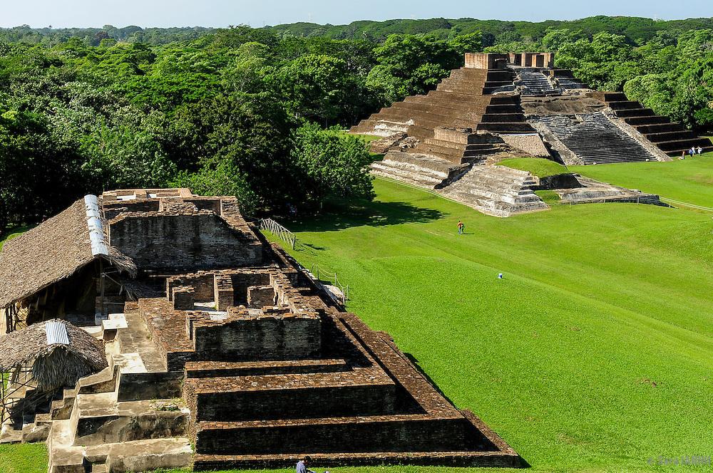Comalcalco Precolumbian Maya Archaeological Site, Tabasco, Mexico, America