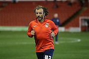 Coventry City midfielder Stephen Hunt (42)  during the Sky Bet League 1 match between Barnsley and Coventry City at Oakwell, Barnsley, England on 1 March 2016. Photo by Simon Davies.
