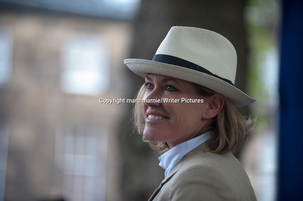 Cerys Matthews at Edinburgh International Book Festival 2013<br />