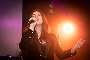 2018-02-21. Club Panama, Amsterdam. De 100% NL Awards 2018. Op de foto: Maan