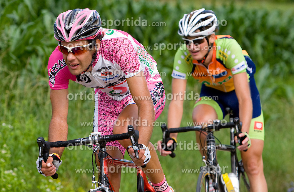 Gregor Gazvoda at Slovenian National Championships in Road cycling, 178 km, on June 28 2009, in Mirna Pec, Slovenia. (Photo by Vid Ponikvar / Sportida)