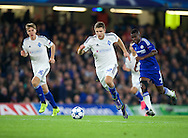 Artem Kravets of Dynamo Kyiv during the UEFA Champions League match at Stamford Bridge, London<br /> Picture by Alan Stanford/Focus Images Ltd +44 7915 056117<br /> 04/11/2015