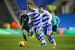 Lewis Grabban of Reading in action - Mandatory by-line: Jason Brown/JMP - 14/02/2017 - FOOTBALL - Madejski Stadium - Reading, England - Reading v Brentford - Sky Bet Championship