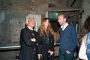 SIMON REUBEN; JEMIMA KHAN; ERIC FELNER, Early launch of Rupert's. Robin Birley  new premises in Shepherd Market. 6 Hertford St. London. 10 June 2010. .-DO NOT ARCHIVE-© Copyright Photograph by Dafydd Jones. 248 Clapham Rd. London SW9 0PZ. Tel 0207 820 0771. www.dafjones.com.