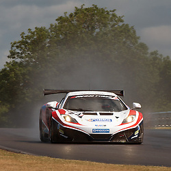 Glynn Geddie (United Autosports) from Aberdeen, at Snetterton having replaced ex F1 driver Mark Blundell for the rest of the Avon Tyres British GT Championship on the 16th June 2013.<br /> <br /> WAYNE NEAL | STOCKPIX.EU
