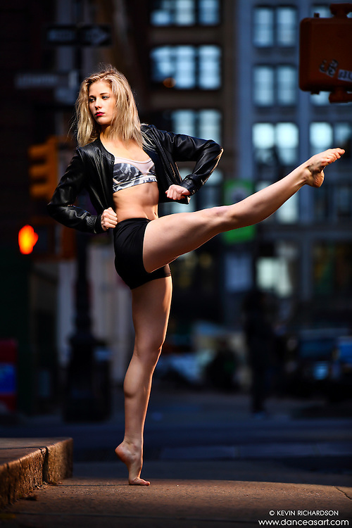 Dance As Art New York City Photography Project SoHo Series with dancer, Erika Citrin.