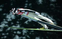 01.02.2011, Vogtland Arena, Klingenthal, GER, FIS Ski Jumping Worldcup, Team Tour, Klingenthal, im Bild Anders Bardal, NOR, während der Qualifikation // during the FIS Ski Jumping Worldcup, Team Tour in Klingenthal, Germany 1/2/2011. EXPA Pictures © 2011, PhotoCredit: EXPA/ Jensen Images/ Ingo Jensen +++++ ATTENTION +++++ GERMANY OUT!