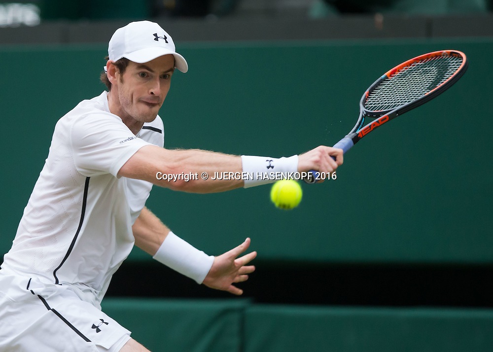 ANDY MURRAY (GBR)<br /> <br /> Tennis - Wimbledon 2016 - Grand Slam ITF / ATP / WTA -  AELTC - London -  - Great Britain  - 4 July 2016.