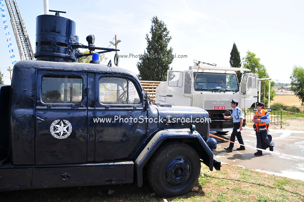 Israel, Riot control vehicle
