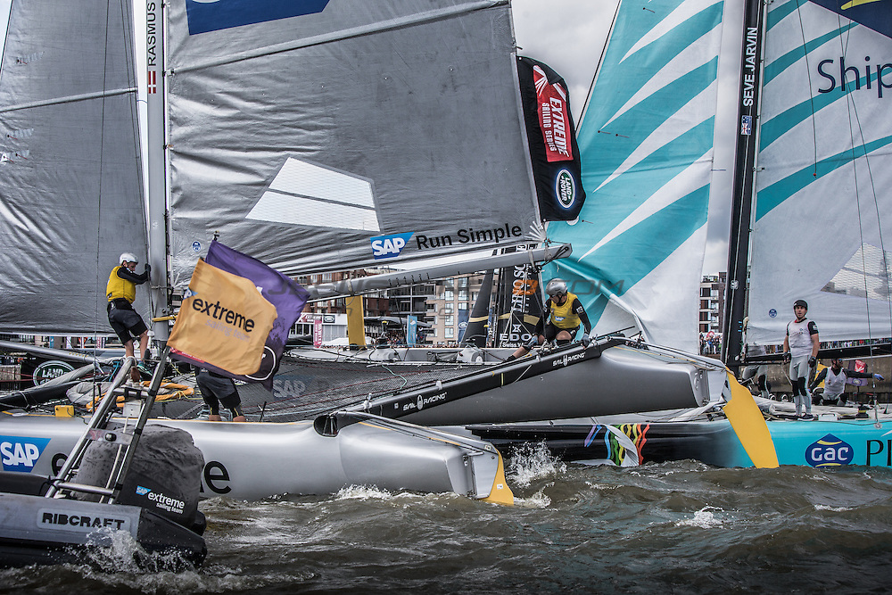 &quot;2015 Extreme Sailing Series - Act 5 - Hamburg.<br />