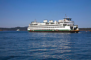 ferry Friday Harbor, San Juan Island, Washington State