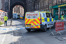 Cowgate Closure due to fall, Edinburgh, 18 June 2019