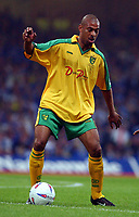 Fotball<br /> England<br /> Foto: Fotosports/Digitalsport<br /> NORWAY ONLY<br /> <br /> NORWICH V BIRMINGHAM CITY 12/05/02 NATIONWIDE DIVISION 1 PLAYOFF (1-1) 2-4 AFTER PENALTIES<br /> DAVID NIELSEN NORWICH CITY 2001-2002